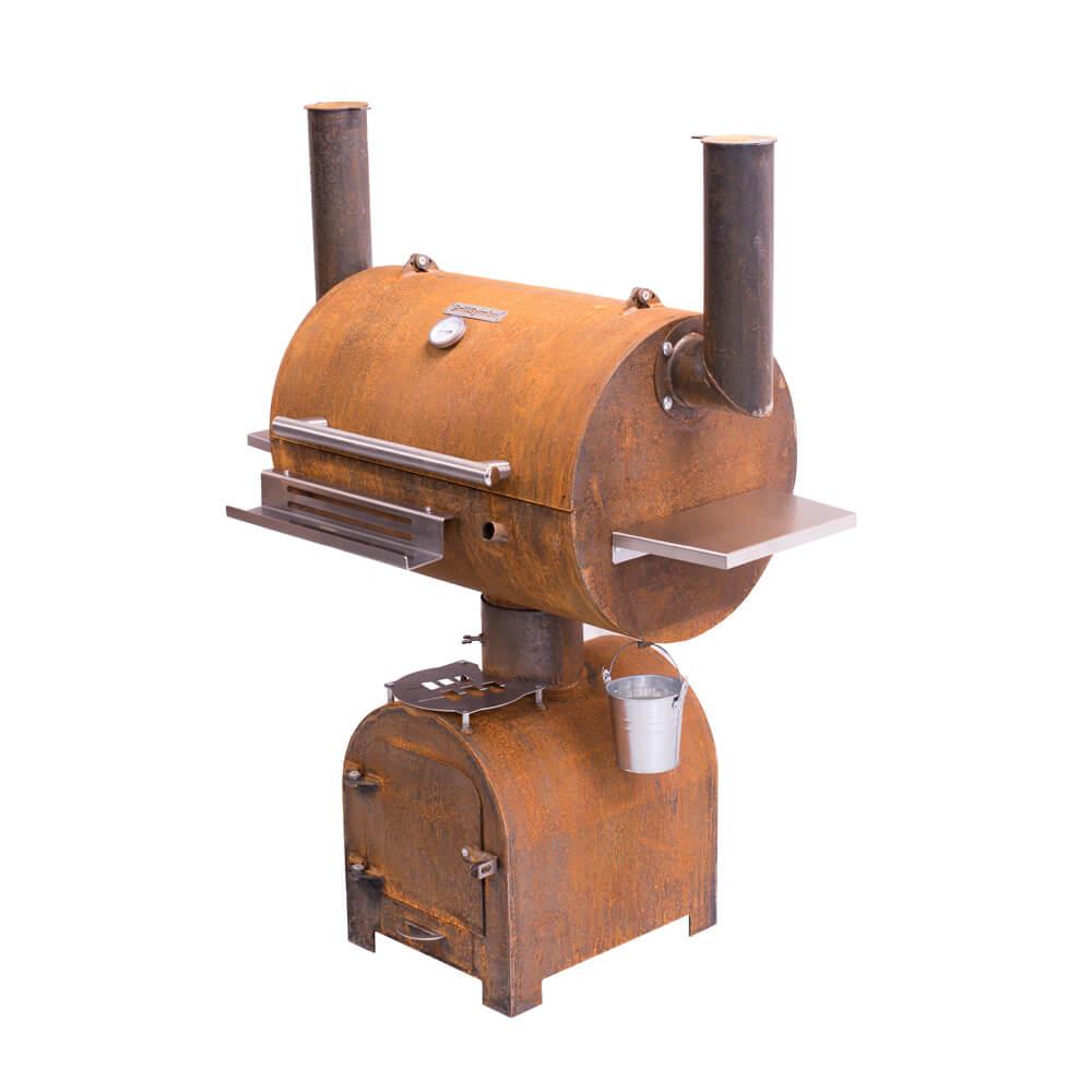 GrillSymbols Smoky Beast Smoker-Holzkohlegrill