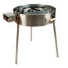 GrillSymbol Paella Frying Pan Set PRO-720 inox