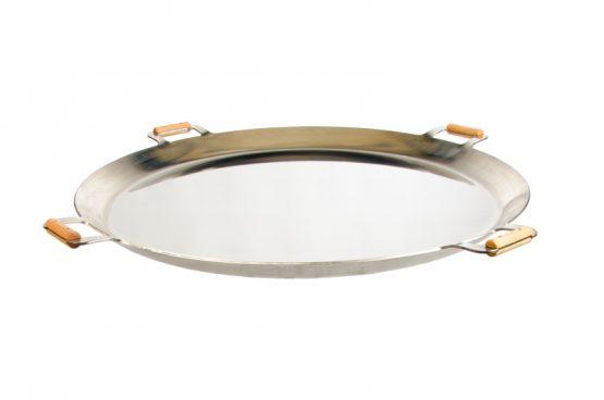 GrillSymbol Paella Frying Pan PRO-960 inox