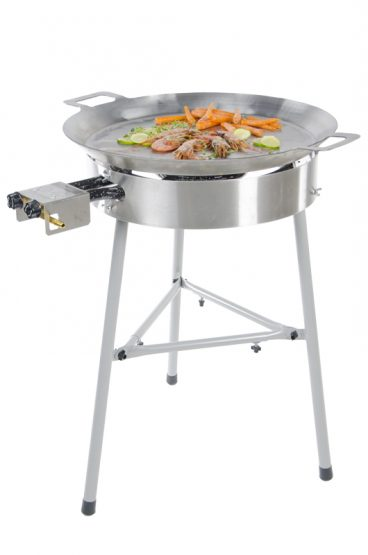 GrillSymbol Paella Frying Pan Set Basic-580