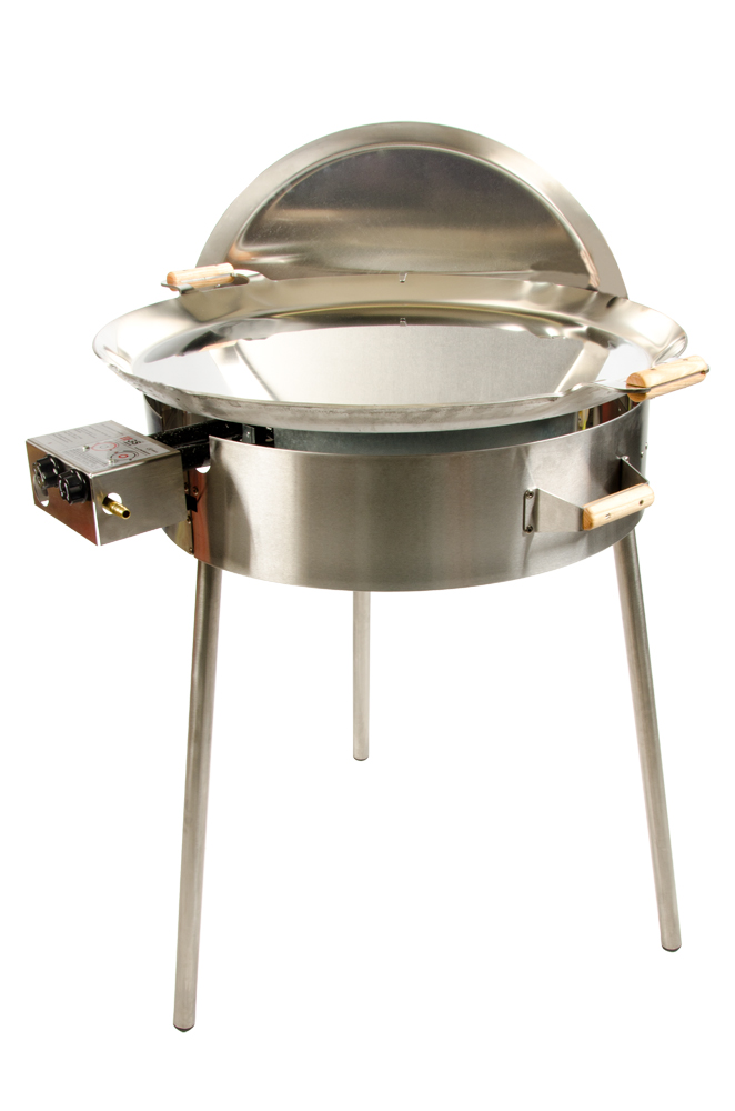GrillSymbol Paella Edelpfanne Set PRO-720i