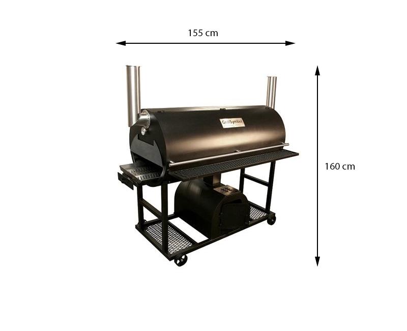 grillsymbol bbq smoker q 1250 grillsymbol. Black Bedroom Furniture Sets. Home Design Ideas