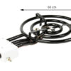 Grillsymbol Indoor and Outdoor Paella Gas Burner 25 kw