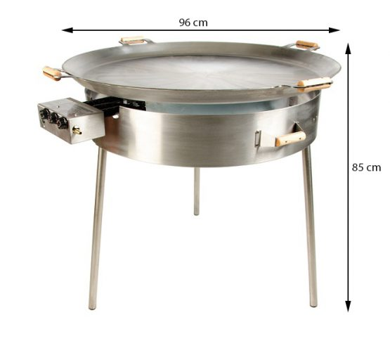 GrillSymbol Paella Frying Pan Set PRO-960