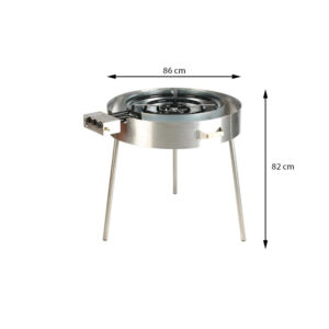 GrillSymbol Paella Gas Cooker TW-960