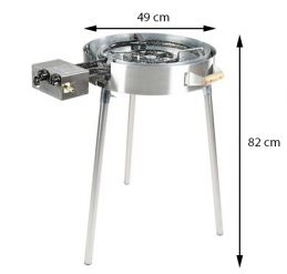 GrillSymbol Indoor and Outdoor Gas Stove TW-580i
