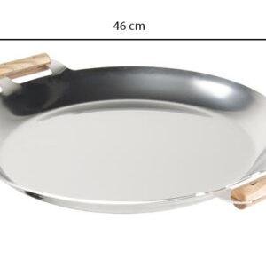 GrillSymbol Riesenpfanne FP 460 inox