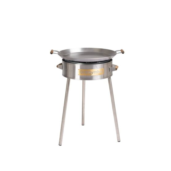 GrillSymbol Paella Stahlpfanne Set PRO-580