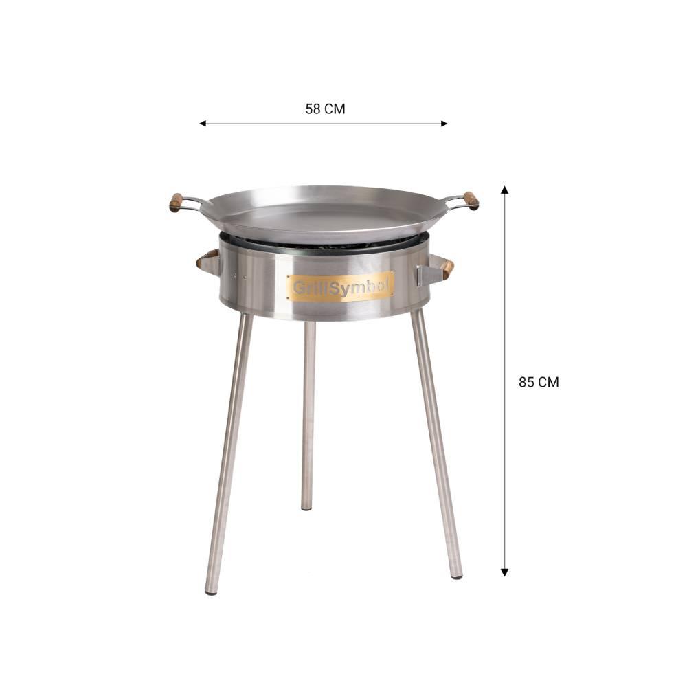 GrillSymbol Kit de Paella PRO-580