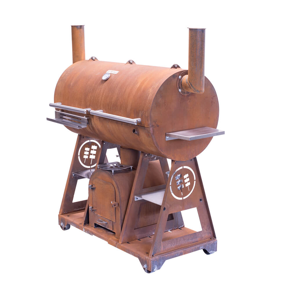 GrillSymbols Smoky Beast XL Smoker-Holzkohlegrill