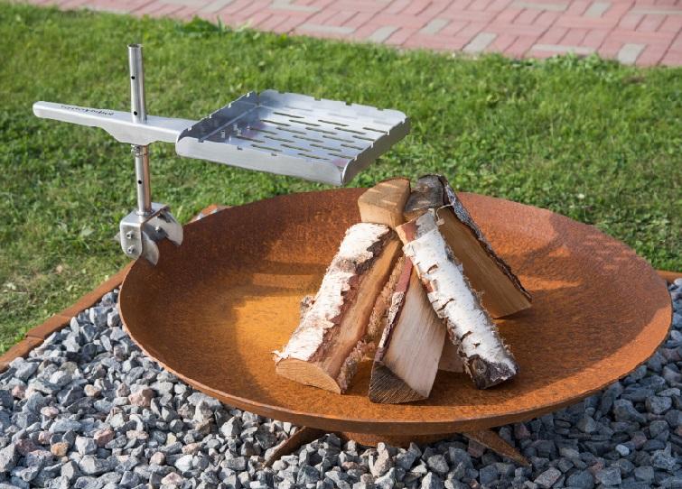 GrillSymbol Cor-Ten Steel Fire Pit Chiaro XL