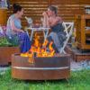 GrillSymbol Feuerstelle aus Cortenstahl Lucas
