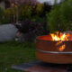 GrillSymbol Lucas Outdoor Wood burning Fire Pit