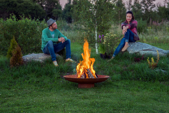 GrillSymbol Chiaro Outdoor Wood Burning Fire Pit