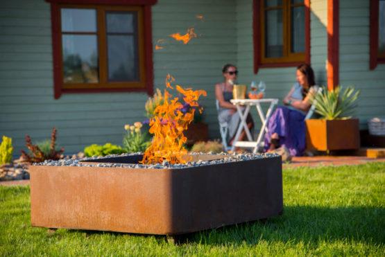 GrillSymbol Fogo Outdoor Wood Burning Fire Pit