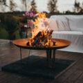 GrillSymbol Feuerstelle aus Cortenstahl Elegante XL
