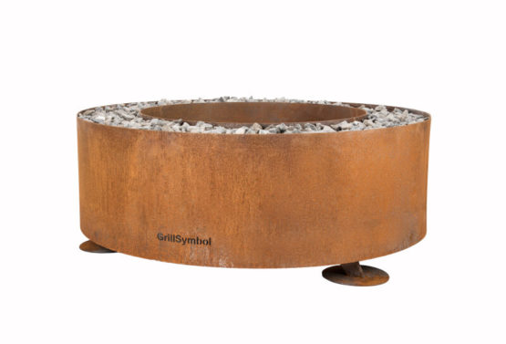 GrillSymbol Kiuas Outdoor Wood Burning Fire Pit