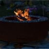 GrillSymbol Luna Outdoor Wood Burning Fireplace