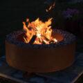 GrillSymbol Cor-Ten Steel Fire Pit Fogo