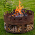 GrillSymbol Cor-Ten Steel Fire Pit Antigo