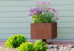 Corten Steel Flower Pot Ulla M
