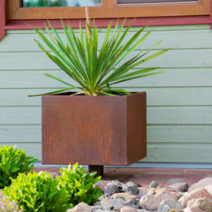 Corten Steel Flower Pot Ulla M