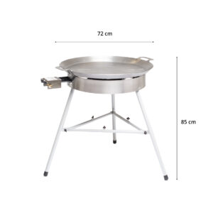 GrillSymbol Paella Frying Pan Set Basic-720