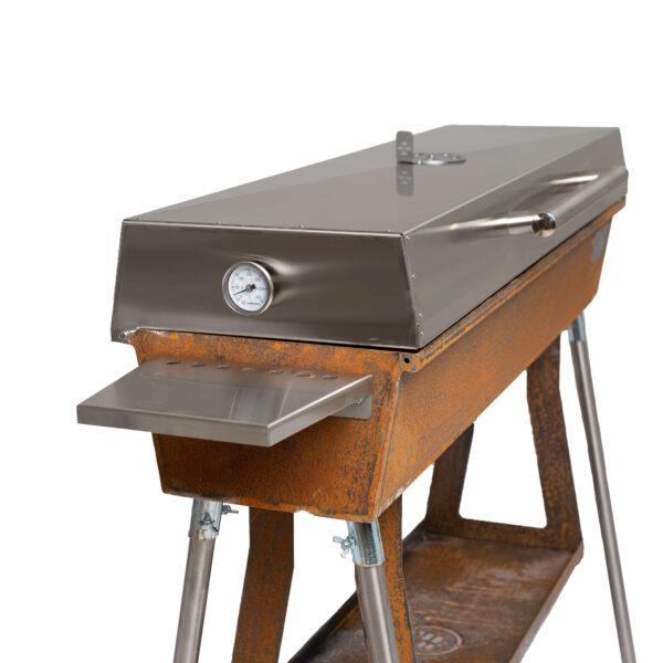 GrillSymbol  Holzkohlegrill aus Corten Chef-XL