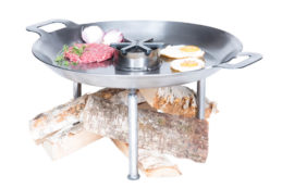GrillSymbol Paella Feuerpfanne mit Beinen WCS-460