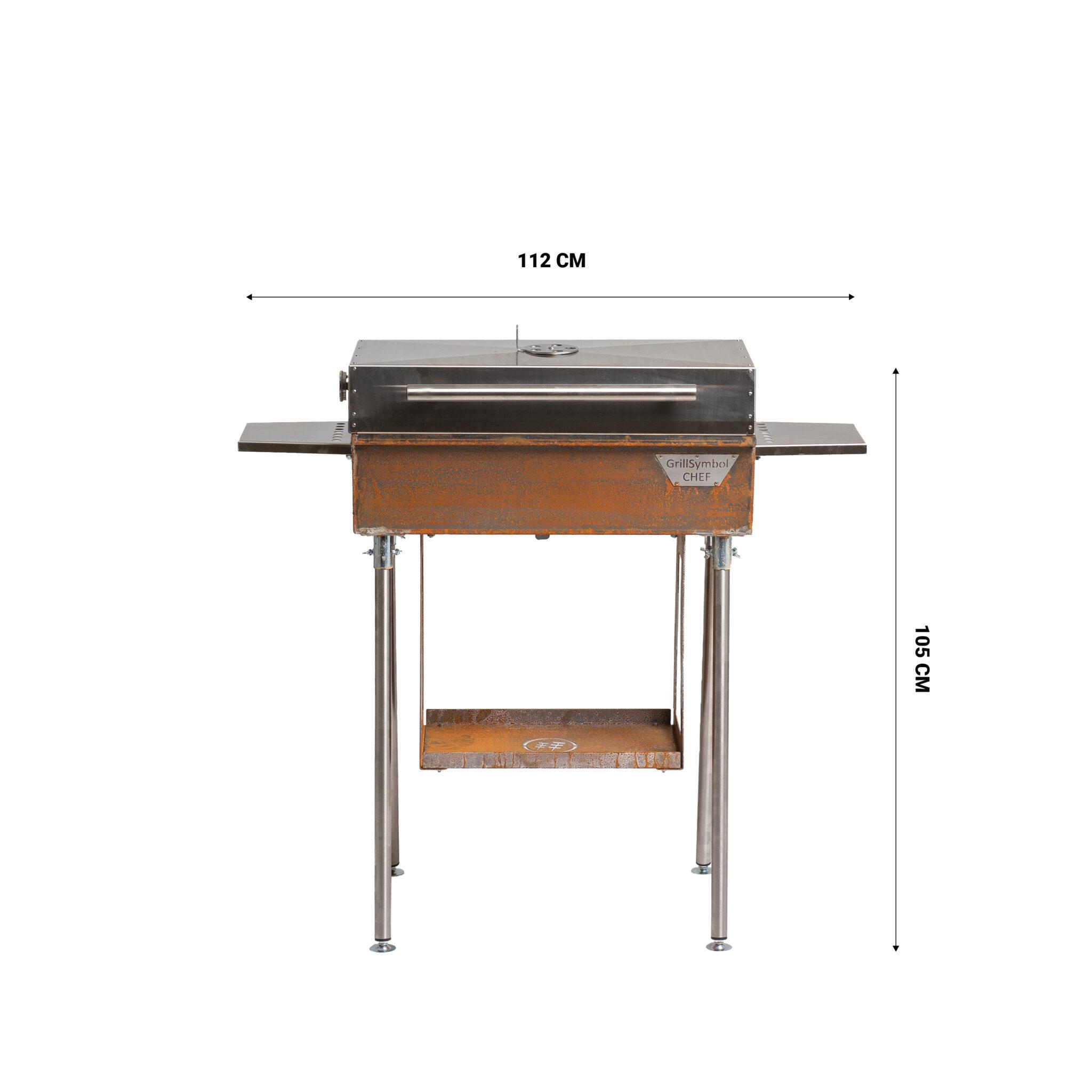 GrillSymbol Chef XL Charcoal BBQ | Etsy