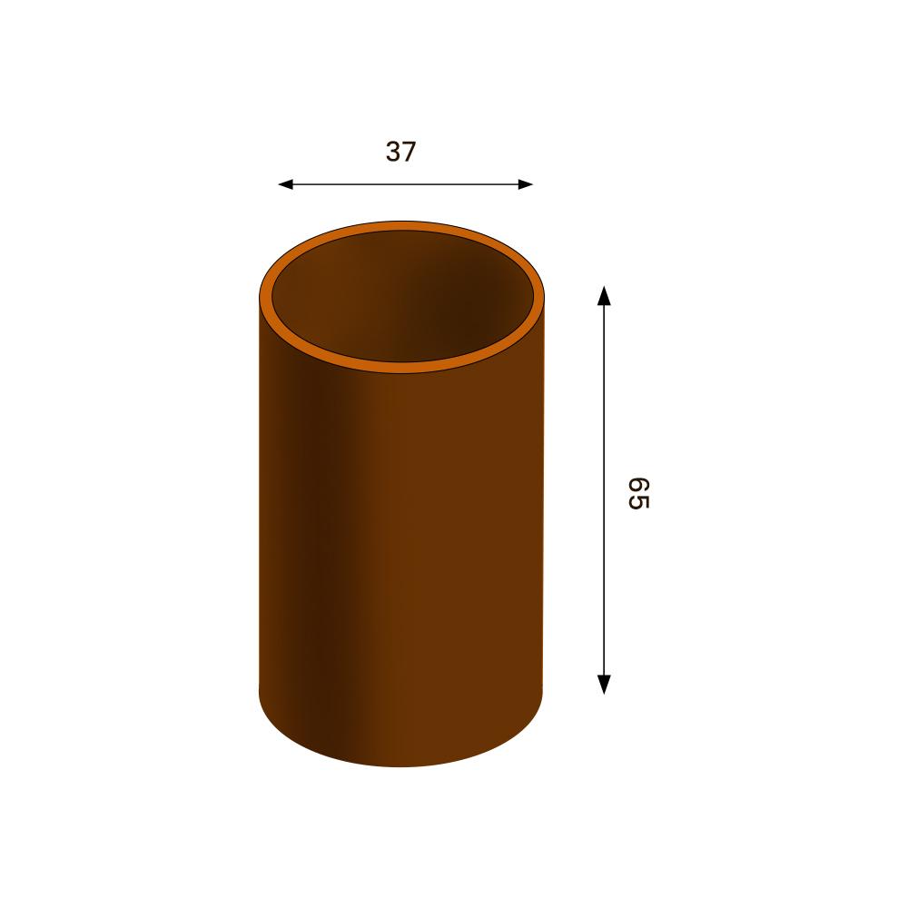 GrillSymbol Cor-Ten Steel Flower Pot Set Clara