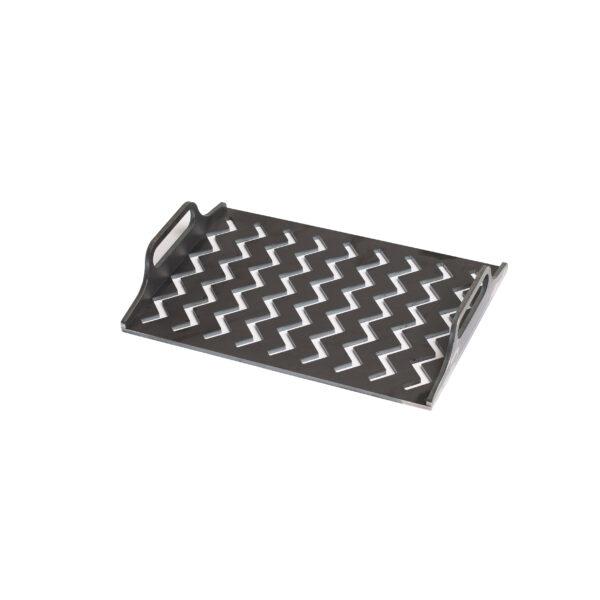 Grillsymbol ZigZag Solid Grillrost 50*33 cm